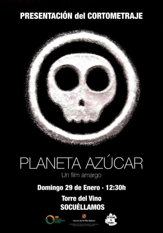 Imagen Proyección del cortometraje Planeta Azúcar