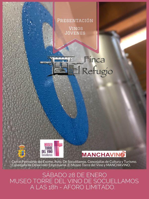 Imagen Bodegas Finca El Refugio presenta este sábado sus vinos jóvenes en el Museo Torre del Vino