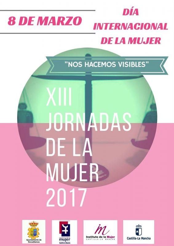 """Imagen XIII Jornadas de la Mujer 2017 """"Nos hacemos visibles"""""""