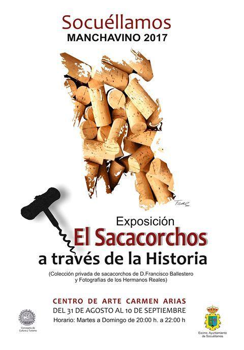 """Imagen Exposición """"El sacacorchos a lo largo de la historia"""", en el Centro de Arte Carmen Arias"""