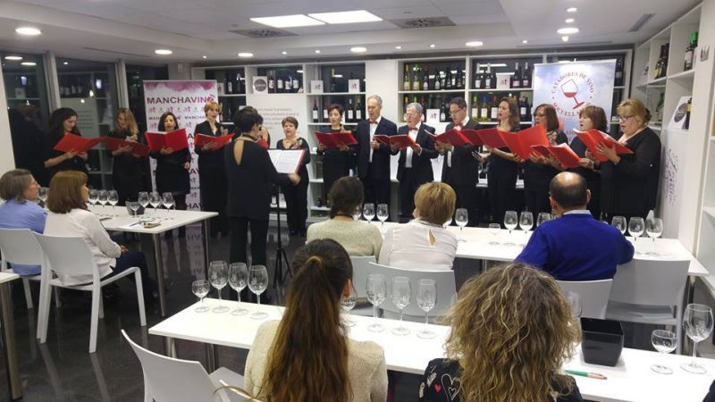 Imagen Cata musical Asociación Catadores Vino y Coro Femenino UP