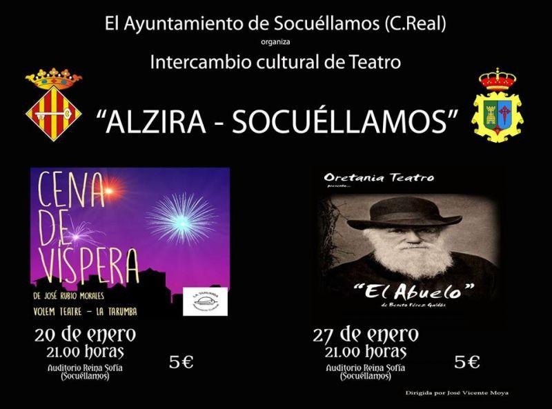 """Imagen Recepción Oficial del """"Intercambio cultural de teatro Alzira-Socuéllamos"""""""