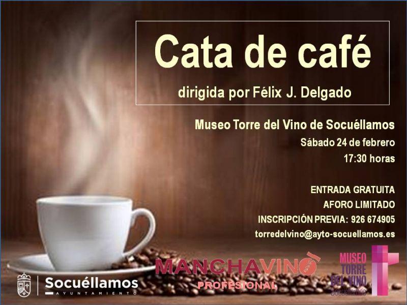 Imagen Cata de Café, con Félix J. Delgado