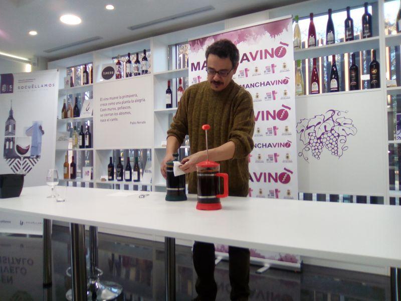 Imagen Cata de cafés, con Félix J. Delgado