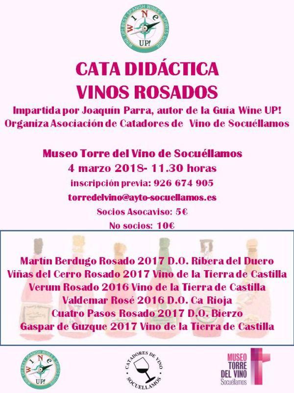Imagen Cata de rosados de la Asociación de Catadores de Vino de Socuéllamos