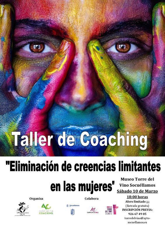 "Imagen Taller de coaching ""Eliminación de creencias limitantes en mujeres"""