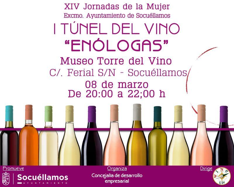 "Imagen I Tunel del Vino ""Enólogas"""