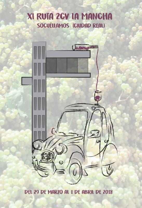 """Imagen Recepción Institucional  a la """"XI Ruta 2CV La Mancha"""""""