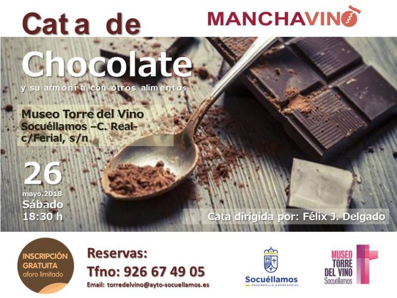 Imagen Cata de Chocolate y su armonía con otros alimentos