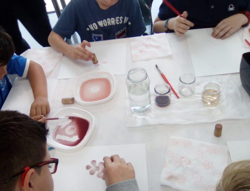 """Imagen Seguimos con el proyecto educativo """"Pintamos con Vino"""""""