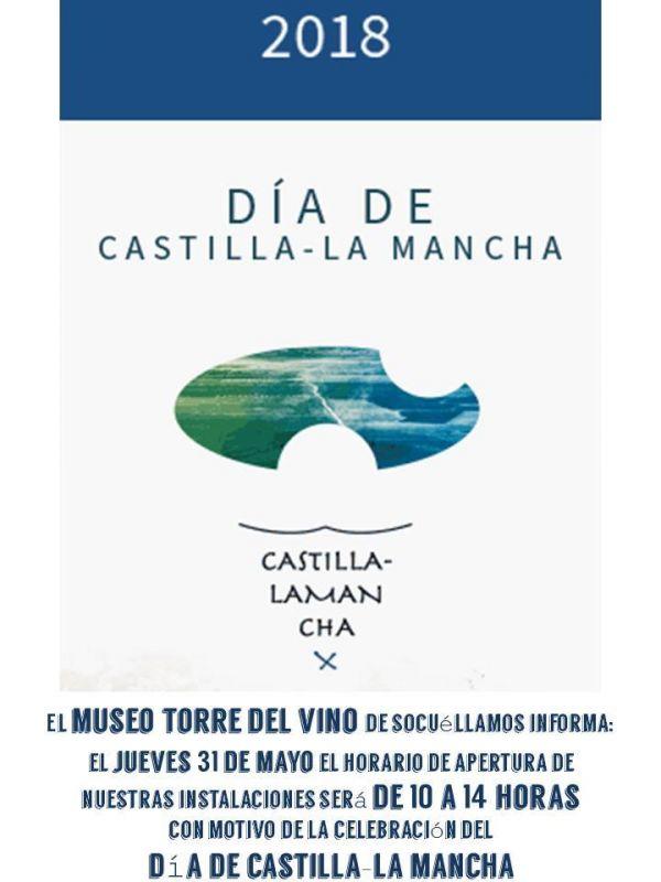 Imagen Horario especial Día de Castilla La Mancha