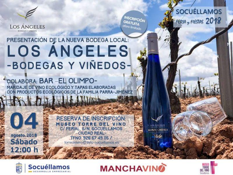 """Imagen Presentación  """"Los Ángeles- Bodegas y Viñedos"""""""