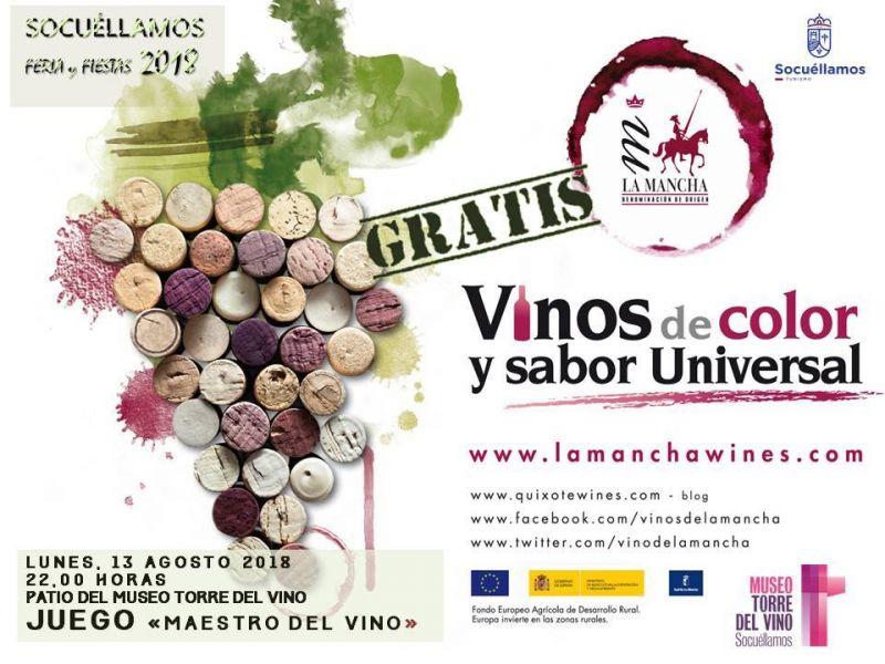 """Imagen """"Maestro del Vino"""" , de la DO La Mancha"""