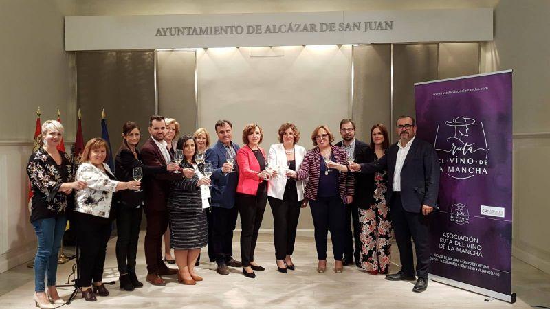 Imagen TURISMO SOCUÉLLAMOS, PRESENTE EN LA PRESENTACIÓN DE LA RUTA DEL VINO DE LA MANCHA.