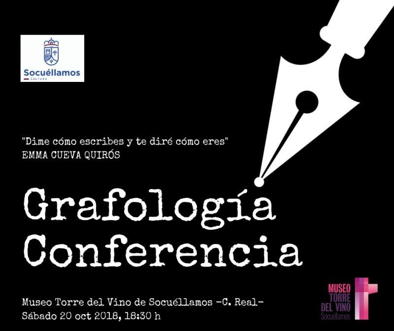 Imagen Grafología Conferencia, 20-10-2018