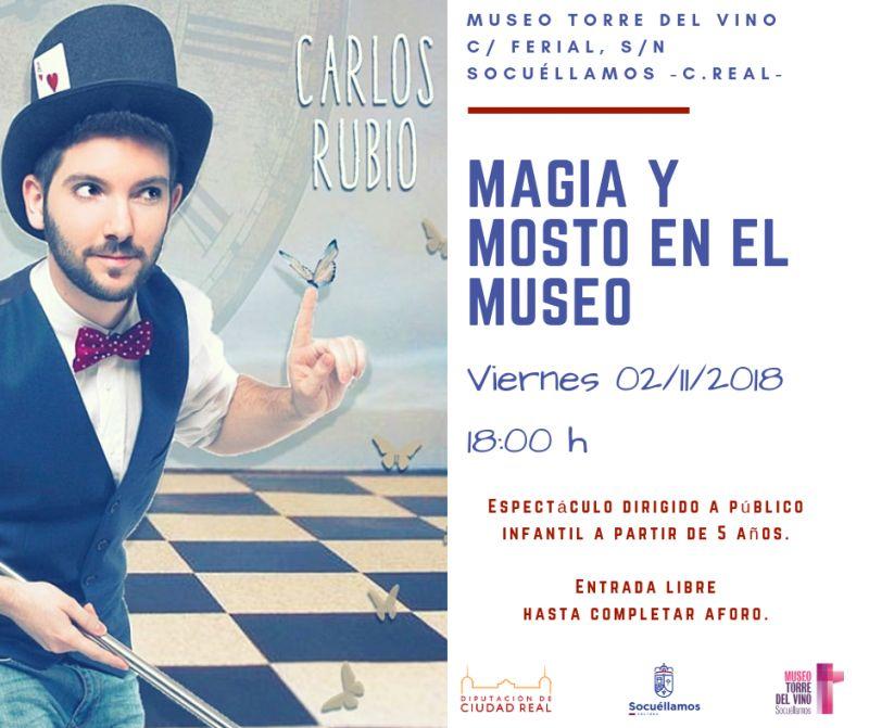"""Imagen """"Mosto y Magia en el Museo"""""""