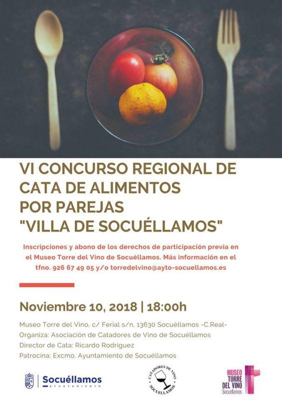 """Imagen VI Concurso Regional de Cata de Alimentos por Parejas """"Villa de Socuéllamos"""""""