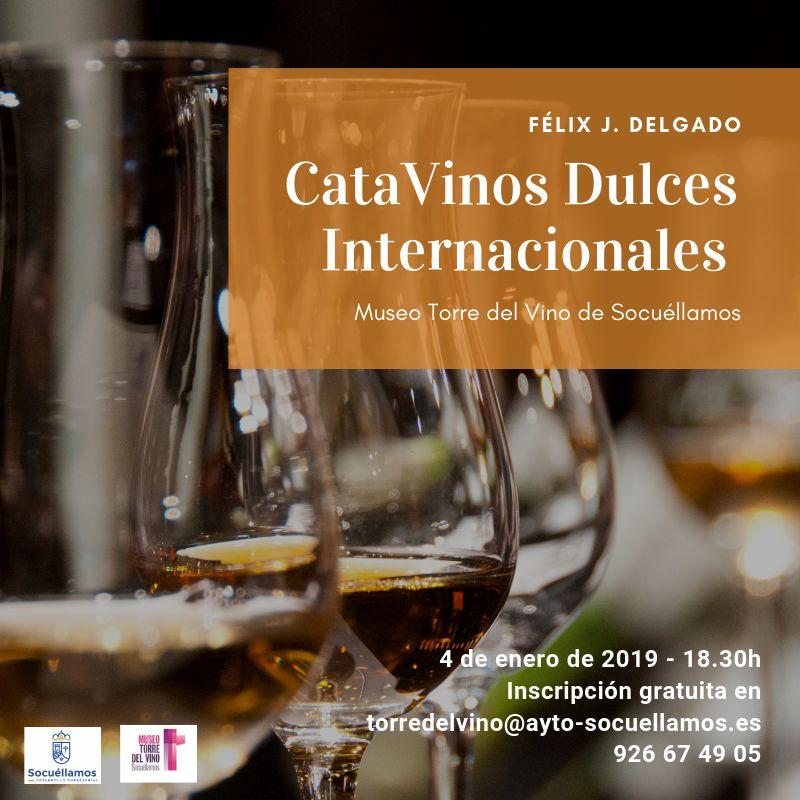 """Imagen """"Cata de Vinos Dulces Internacionales"""""""