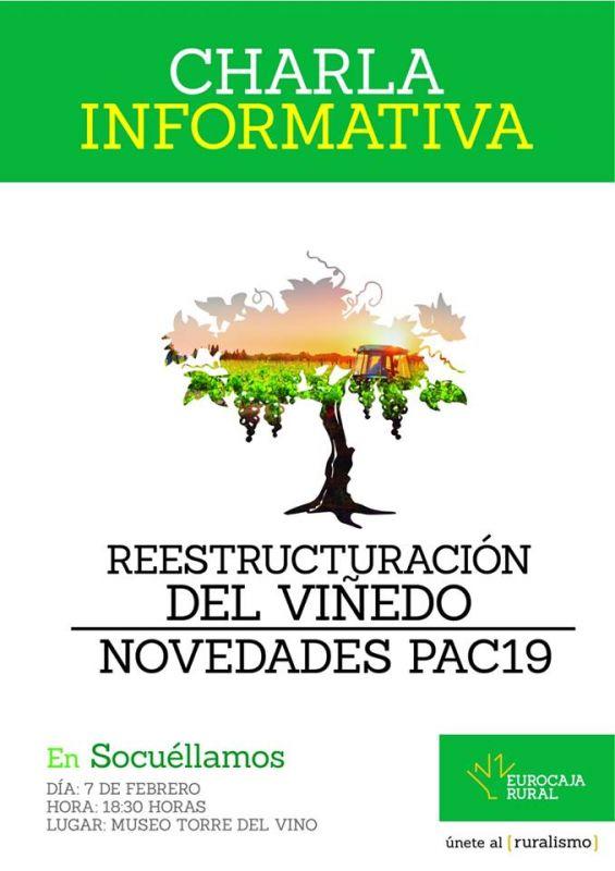 Imagen Charla Informativa sobre Reestructuración del Viñedo y Novedades PAC 2019