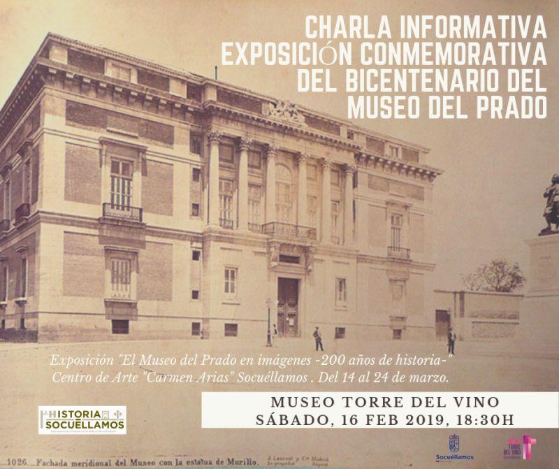 Imagen Charla Informativa Exposición Conmemorativa del Bicentenario del Museo del Prado