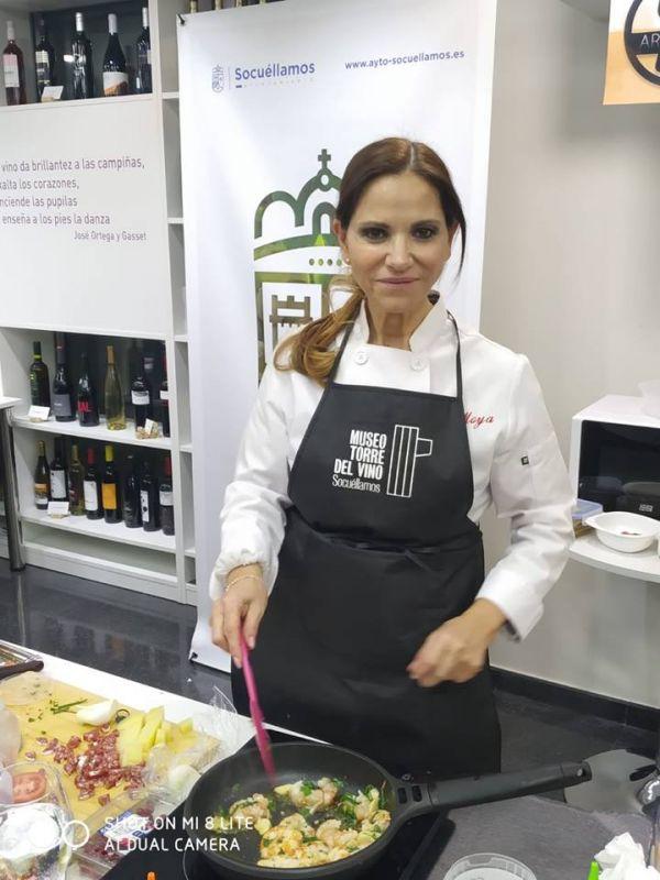 Imagen Gran éxito del Show Cooking de Sue Moya