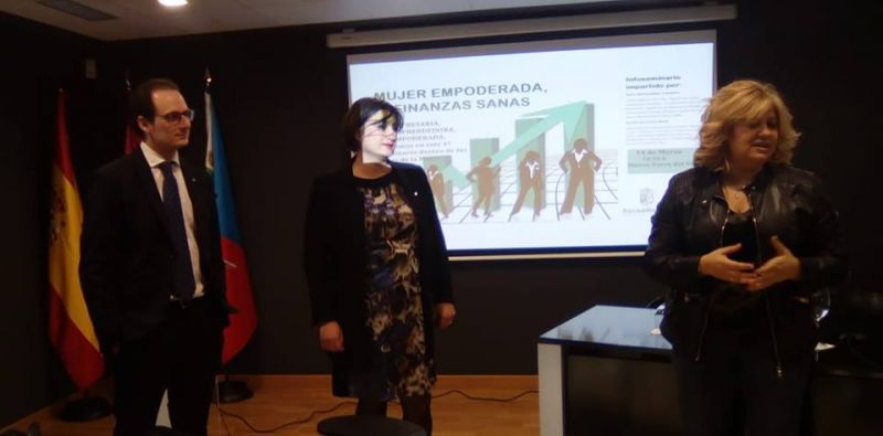 """Imagen Infoseminario """"Mujer emponderada, finanzas sanas"""""""