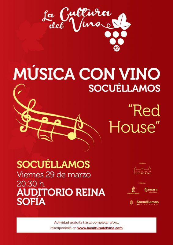 """Imagen La Cultura del Vino:  actuación del grupo """"Red House"""""""