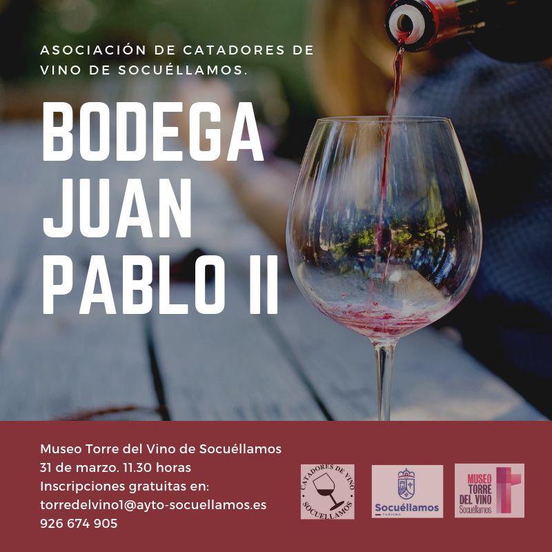 Imagen Bodega Juan Pablo II en el Museo Torre del Vino de Socuéllamos