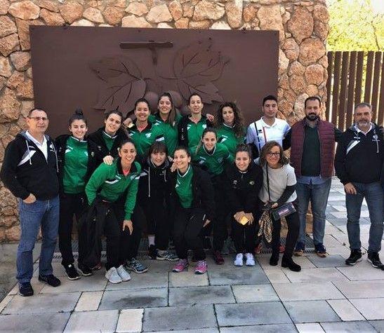 Imagen Visita jugadoras Voleibol Arroyo Extremadura