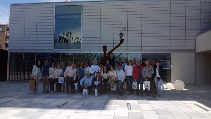 Imagen La empresa 'Pinturas Nieto' elige el Museo para celebrar el 1º de Mayo