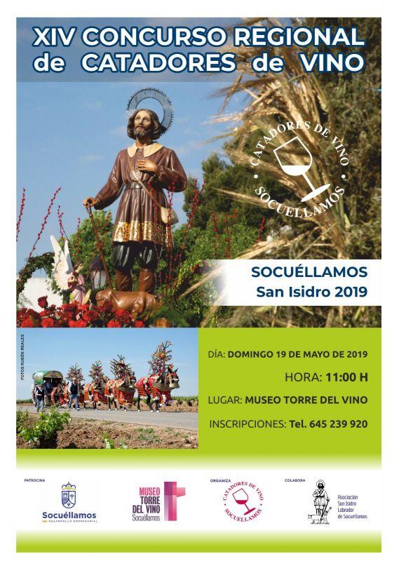 Imagen  XIV Concurso Regional de Catadores de Vino San Isidro 2019