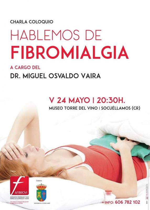 Imagen Charla coloquio: 'Hablemos de Fibromialgia' a cargo del Dr. Miguel Osvaldo Vaira.