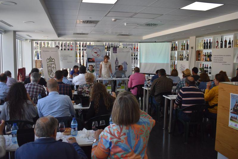 Imagen Se celebra el XIV Concurso Regional de Catadores de Vino de San Isidro
