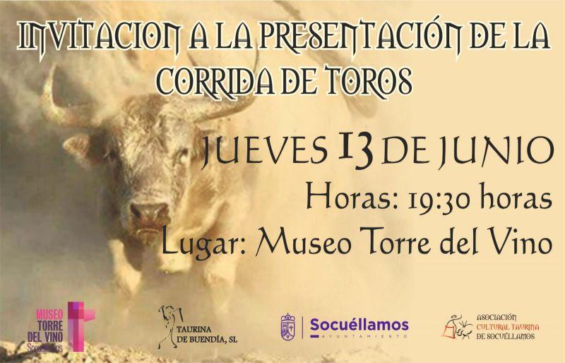 Imagen Presentación del cartel del festejo taurino de las Fiestas Patronales