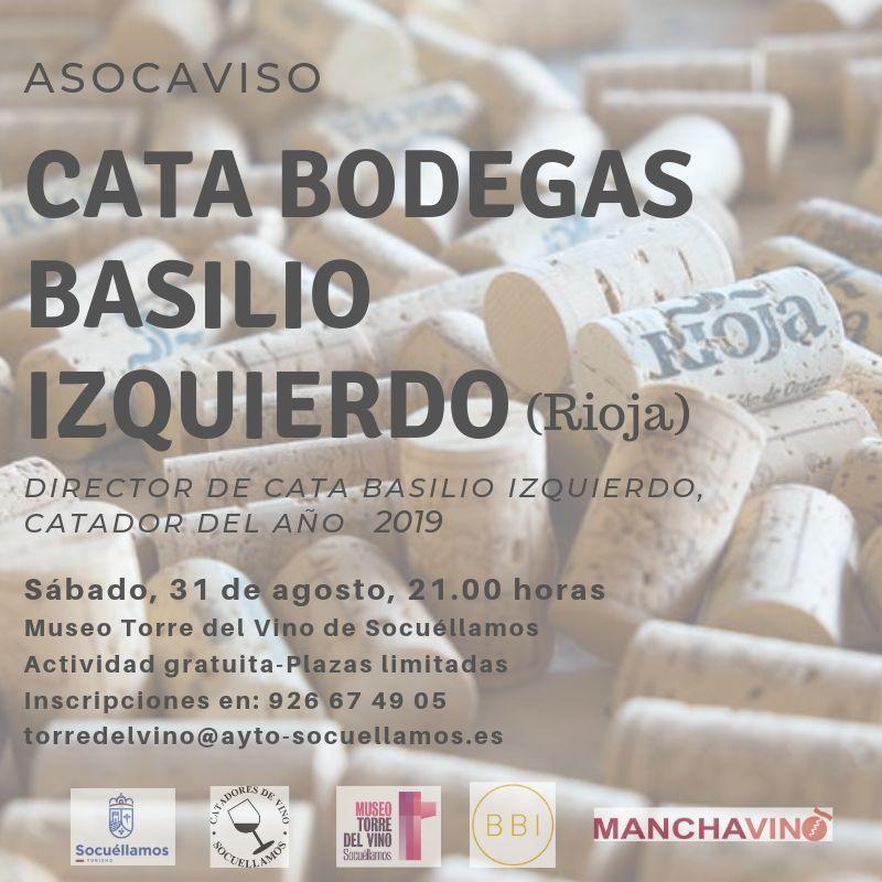 Imagen Cata Bodegas Basilio Izquierdo