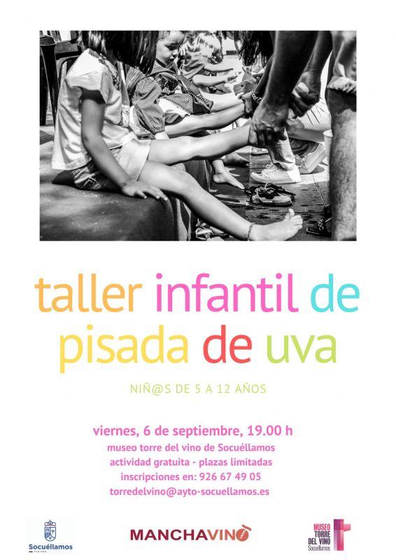 "Imagen Taller Infantil ""Pisada de Uva"""