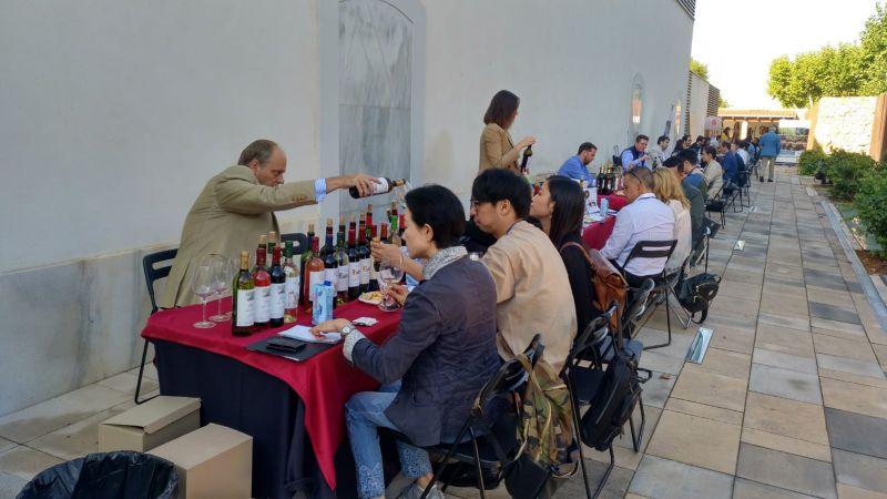 Imagen Encuentro con importadores de vino organizado por la D.O. La Mancha