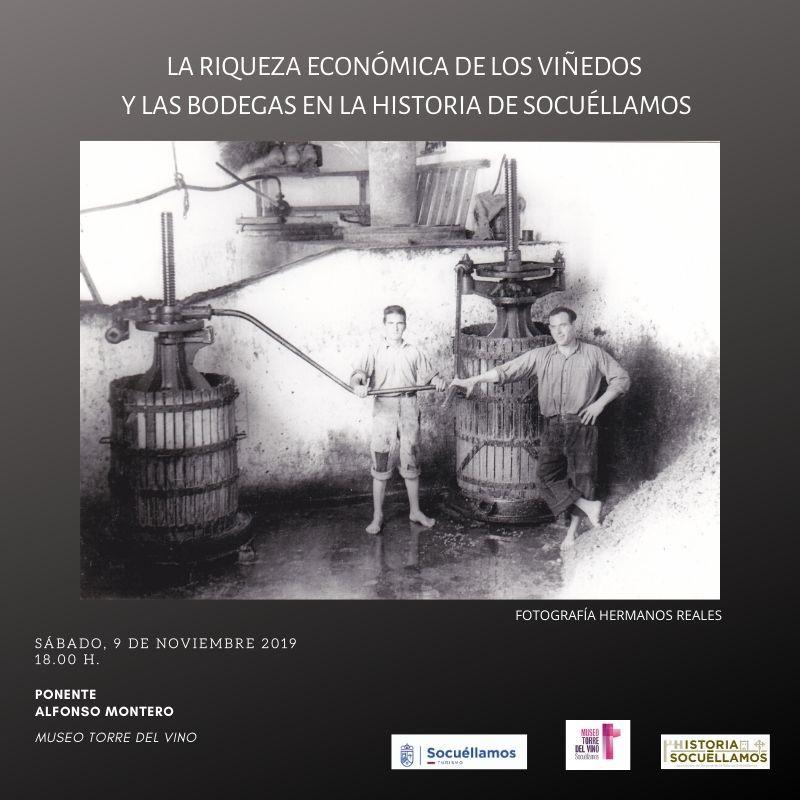 """Imagen """"La riqueza económica de los viñedos y las bodegas en la historia de Socuéllamos"""""""