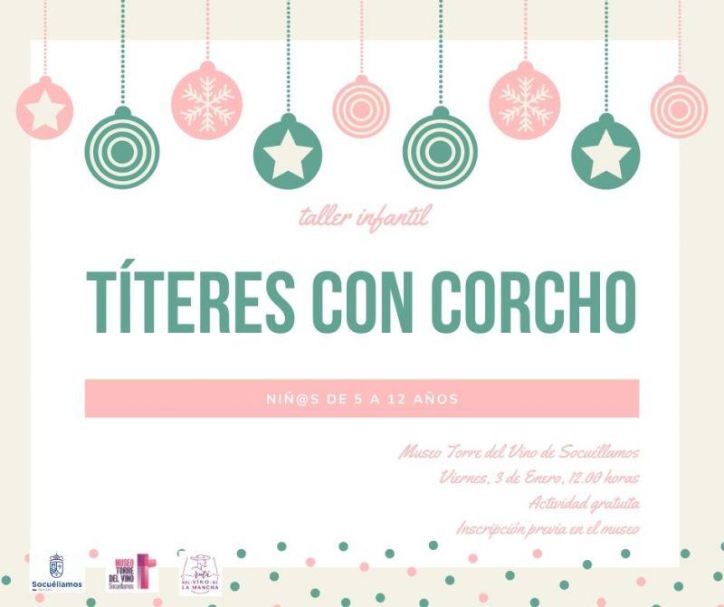 Imagen Taller Infantil de Títeres con corcho