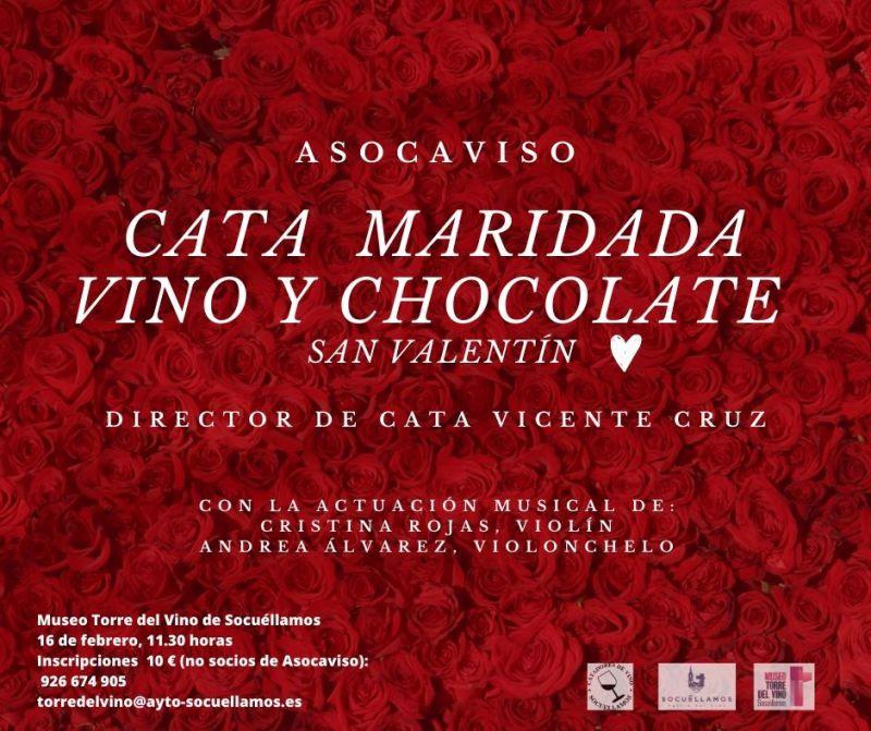 """Imagen """"Cata maridada Vino y Chocolate"""""""