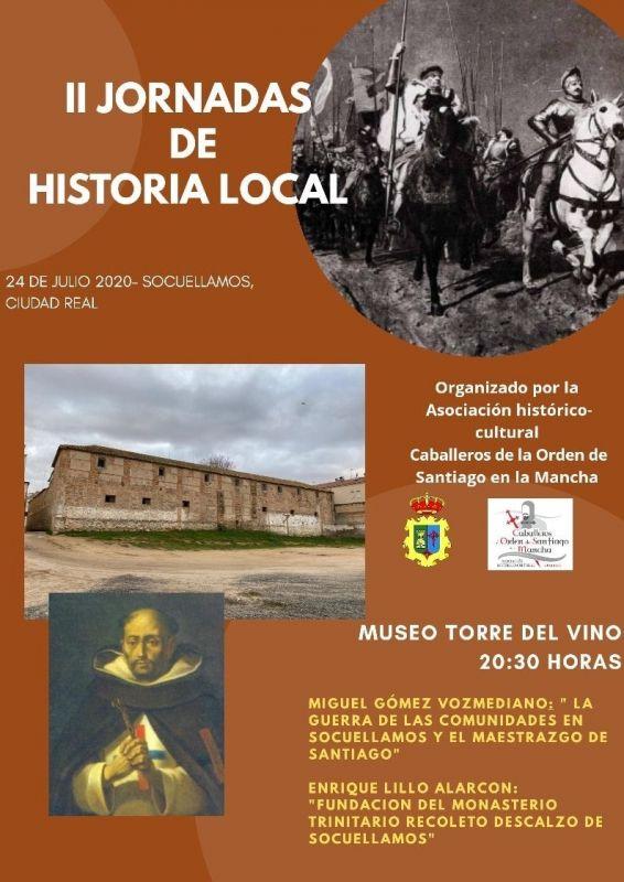 Imagen II JORNADAS DE HISTORIA LOCAL DE SOCUÉLLAMOS