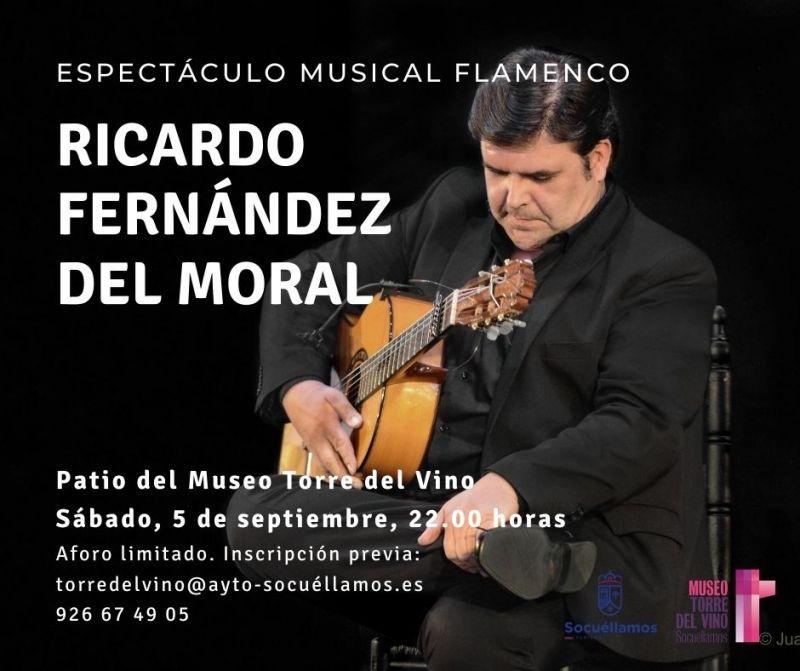 Imagen Espectaculo Flamenco con Ricardo Fernández Del Moral