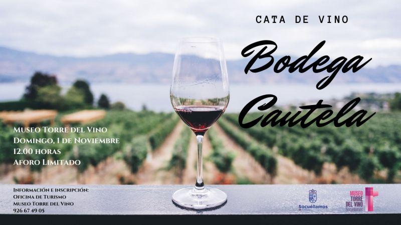 Imagen Cata de vino Bodegas Cautela