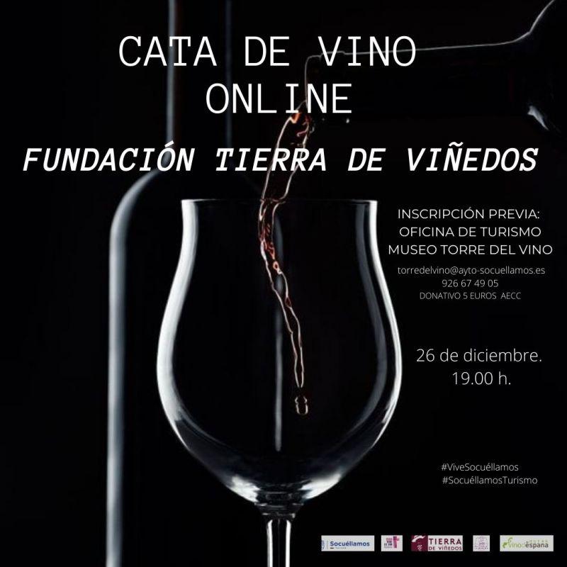 """Imagen """"Cata de Vino online Fundación Tierra de Viñedos"""""""