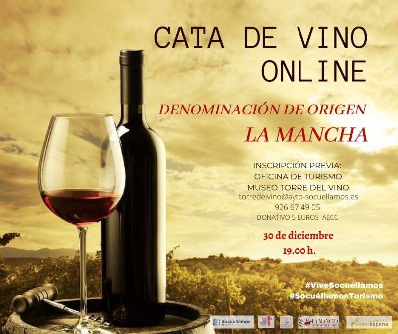 "Imagen Cata de Vino online ""DO La Mancha"""