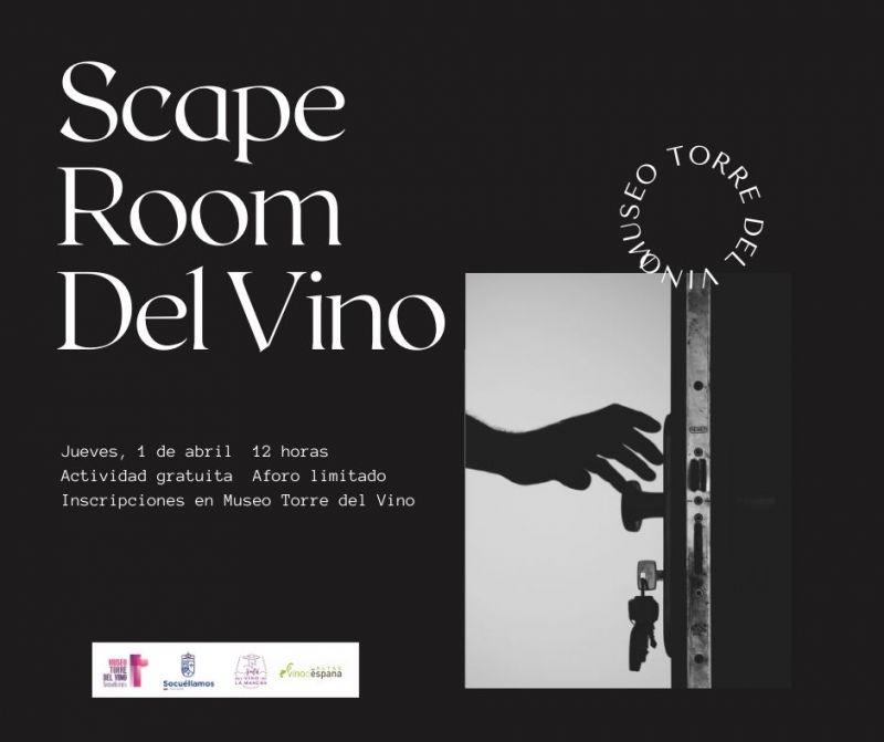 """Imagen  """"Scape Room del Vino"""""""