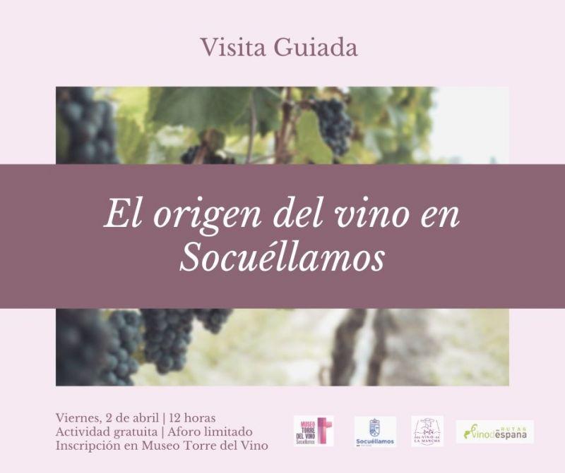 """Imagen Visita Guiada """"El Origen del Vino en Socuéllamos"""""""