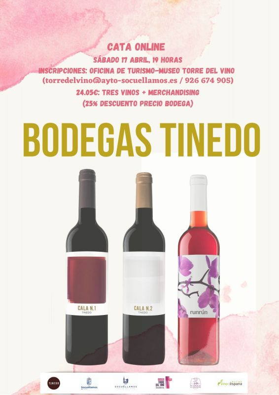 Imagen Cata online Bodegas Tinedo