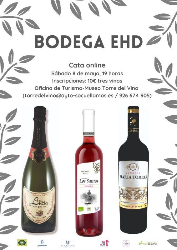 Imagen Cata online Bodegas EHD