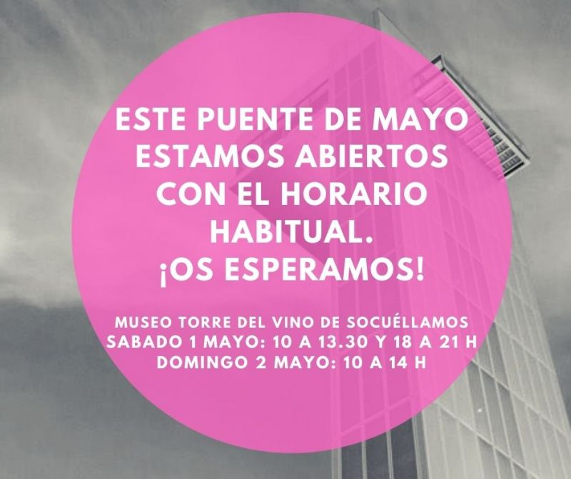 Imagen Horario especial Puente de Mayo
